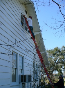 Painting the north side
