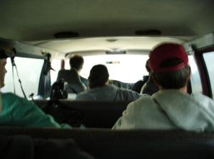 Our team's van