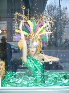 Mardi Gras window