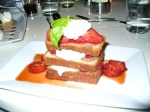 EXTRA virgin strawberry shortcake
