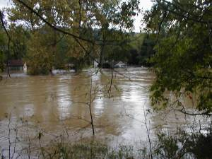 View from our back yard, September 18, 2004