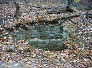 Old catch basin
