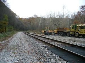 Rail line near Sample Rd