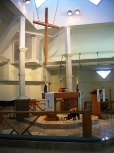 Christus Victor altar