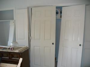Doors painted