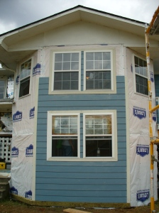 Entry siding EOD