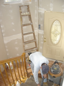 Cleaning entry