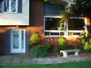 Front of house - after