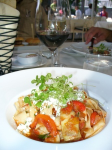 Papardelle at Hillenbrand