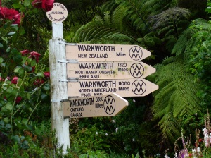 Warkworth signs