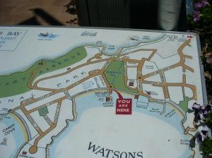 Watson's Bay & Gap map