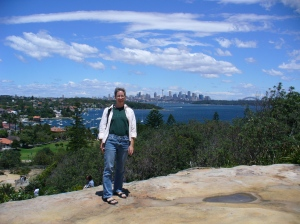 Sydney from Gap Bluff