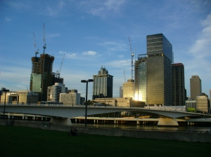 Brisbane late afternoon