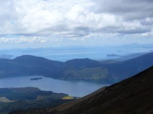 Lakes Rotoraira and Taupo