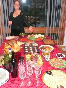 Christmas Eve spread