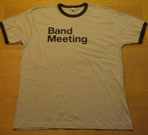 Band Meeting t-shirt