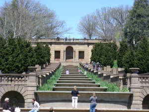 Meridian Hill Park cascade