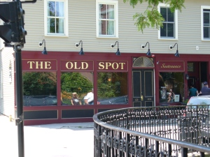 The Old Spot by day