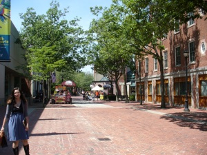 Pedestrian area in Salem