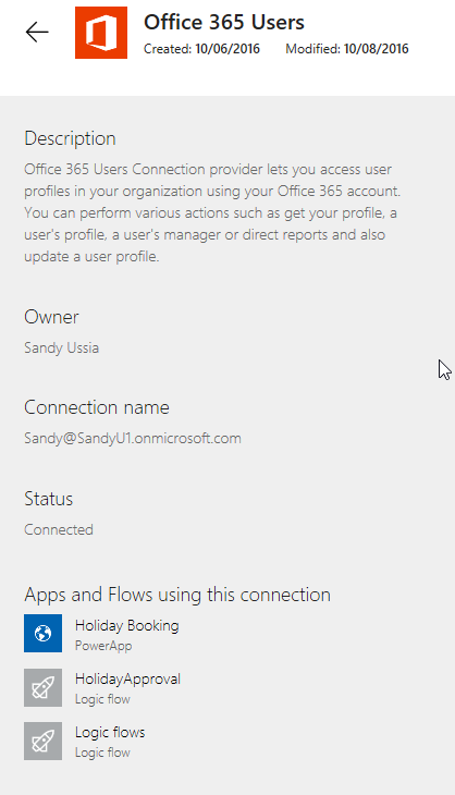PowerApps/Flow: Deleting a Connection | Where have the days